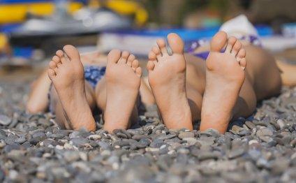 Отдых на пляже в Краснодарском