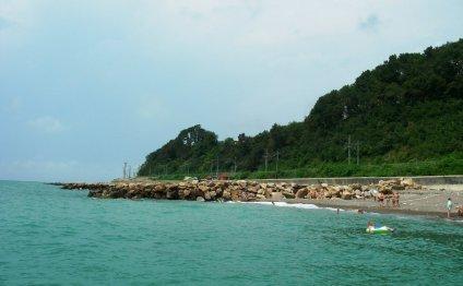 Сочи Сочинский пляж Пляж в